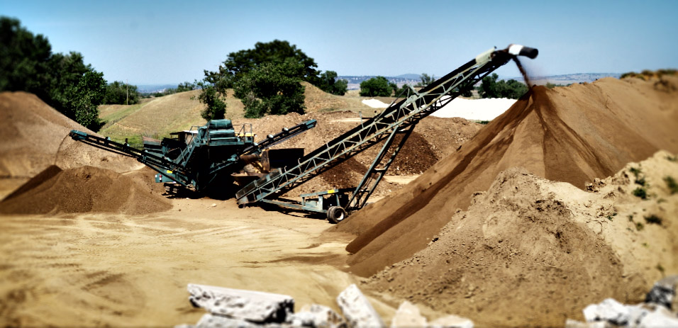 Concrete Recycling Services Sacramento Concrete Recycling Equipment