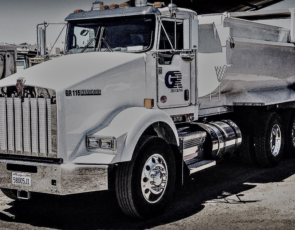 Endorsements on CDL Gr Trucking | Concrete Recycling | Material Trucking | Sacramento